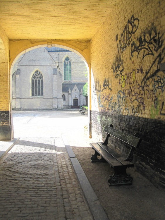 Entrée abbaye de la Cambre
