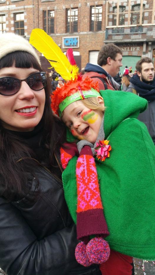 Emma et moi - carnaval 2015