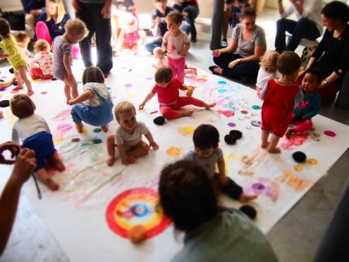 May baby - atelier peinture