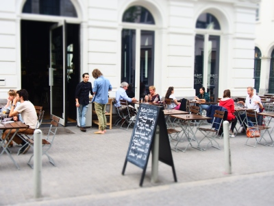 Terrace Munpunt Grand Café