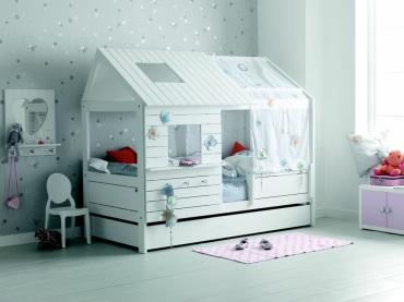 lit-cabane-blanc Alfred & Cie