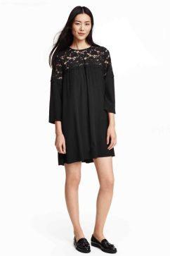 Crepe dress H&M