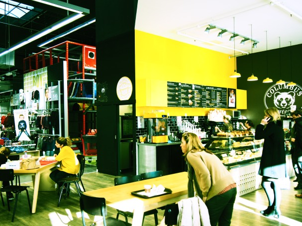 Colombus coffee corner
