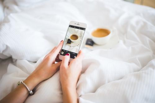 instagram au saut du lit