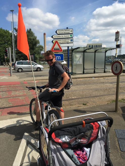 Biking With Kids In Brussels The Bakfiets Urban Arrow A