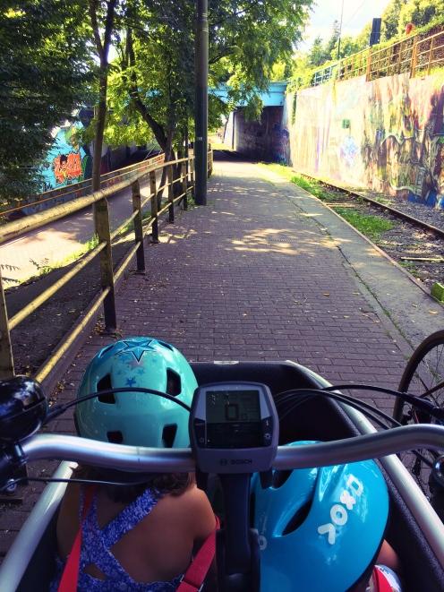 Bike ride in Laeken