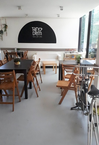Tandem Fiets Café Vélo